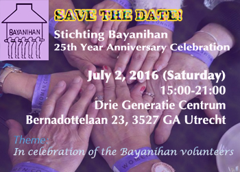 Save the date: 02 July 2016