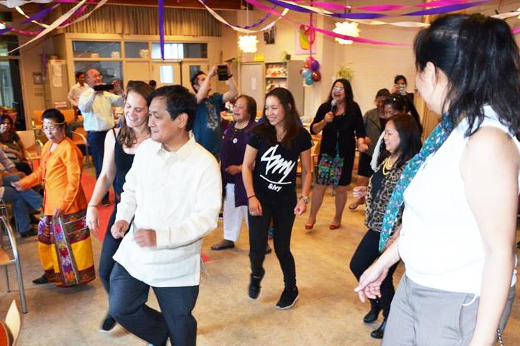 line dancing with amba