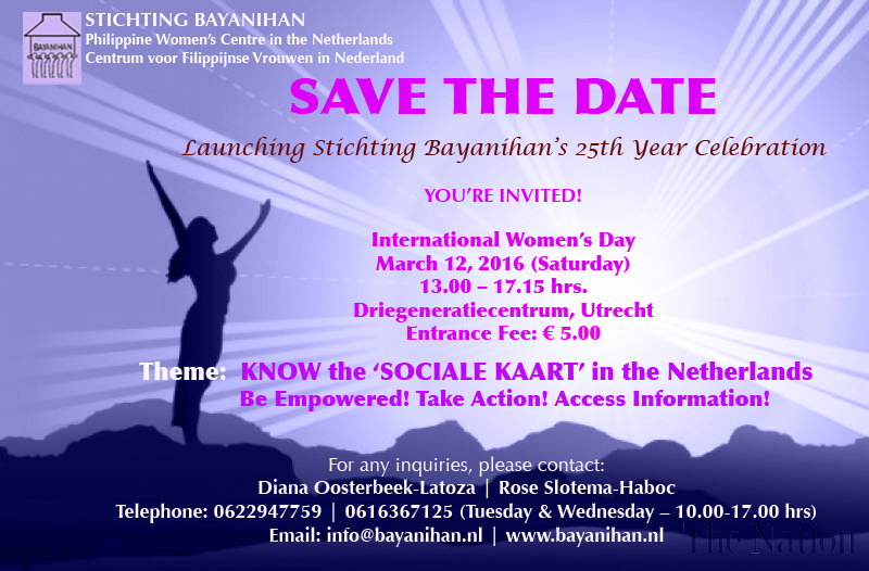 March 12: Know the 'sociale kaart' in the Netherlands