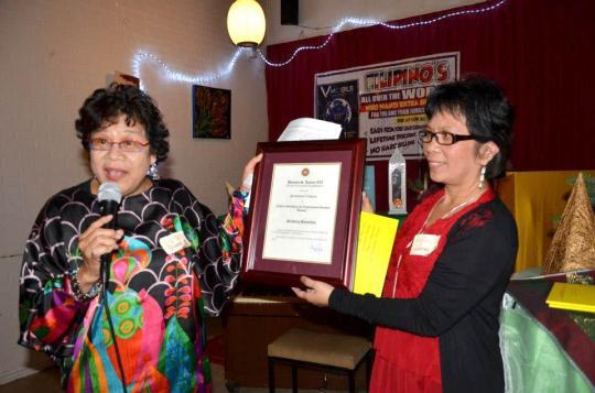 Bayanihan receives Presidential (Banaag) Award 2012
