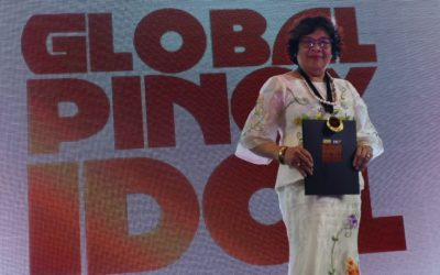 Bayanihan founder honoured as 'Global Pinoy Idol'