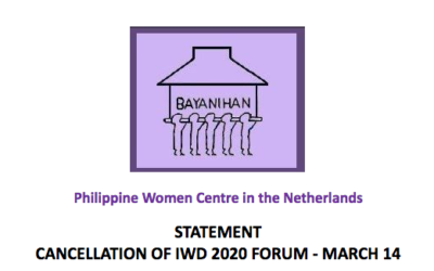 IWD 2020 cancelled due to COVID-19